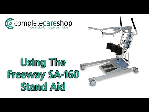 Transferring A Person With The Freeway SA-160 Stand Aid