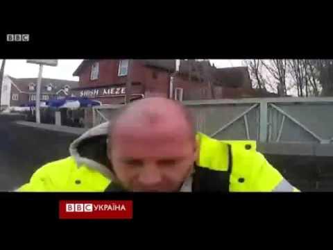Велосипедист проти водія  що фільмувала камера