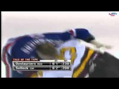 Eric Selleck vs. Nicolas Deslauriers