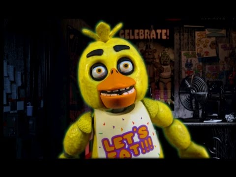 FIVE NIGHTS AT FREDDY'S CHICA ACTION FIGURE - FUNKO FNAF TOY REVIEW