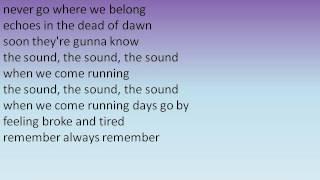 Youngblood Hawke - We Come Running Lyrics