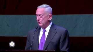 2014 Salute to Iraq & Afghanistan Veterans - General James Mattis, USMC (Ret.) - Full Version