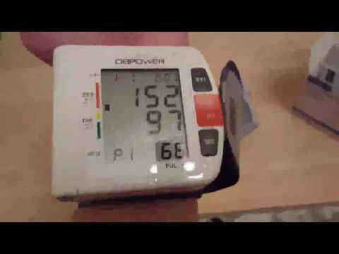 Professioneller Handgelenk Blutdruckmessgerät von DBPOWER, Ein richtig gutes Handgelenk Blutdruckmes