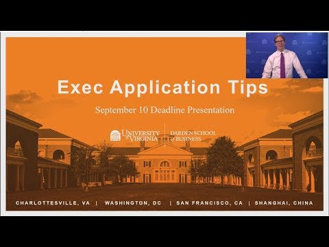 Exec Application Tips - September 2018