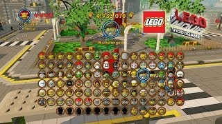 The Lego Movie Video Game: Unlocking Most of the Characters (Shopping Spree)