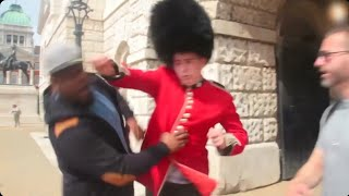 Don't mess with Queen's Guard !