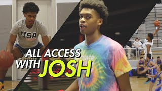 """I Bring Drip ON & OFF The Court."" Josh Christopher Shows Us How He's CHANGING Hoops CULTURE 💯"