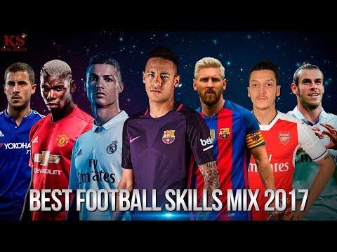 Best Football Skills 2017-2018 Ronaldo Messi Neymar Bale Hazard Sanchez and more