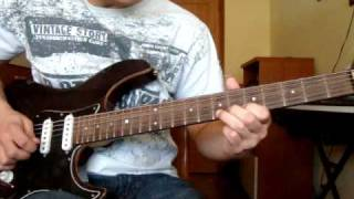 Arch Enemy In This Shallow Grave guitar cover