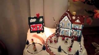 ice rink animated music box