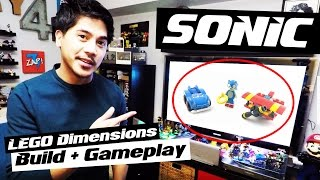 LEGO Dimensions: Sonic the Hedgehog Build and Gameplay Overview