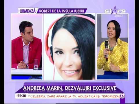 Andreea Marin la Agentul VIP, Antena Stars, 11.10.2016