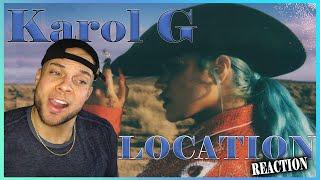 KAROL G, Anuel AA, J Balvin - LOCATION REACTION!!!! w/ Aaron Baker