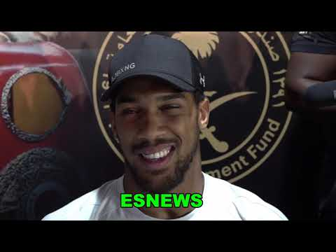 """Anthony Joshua """"Im World Champ Again & It Means More This Time"""" EsNews Boxing"""