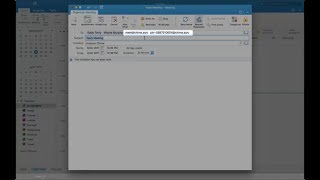 Schedule an Amazon Chime meeting with Microsoft Outlook on Mac or other