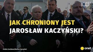 Jak chroniony jest Kaczyński? Byli komandosi, policja…
