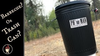 Po' Man Grill | Barbecue Trash Can | Build and Grill