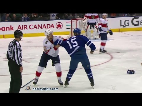 Matt Martin vs. Alex Petrovic