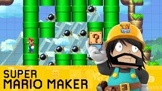 Super Mario Maker - Mario's Minecraft Adventure!
