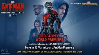 Gambar cover Marvel's Ant-Man Red Carpet Premiere