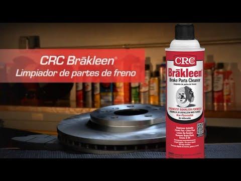 Video de instrucciones para el limpiador para partes de freno Brakleen® de CRC