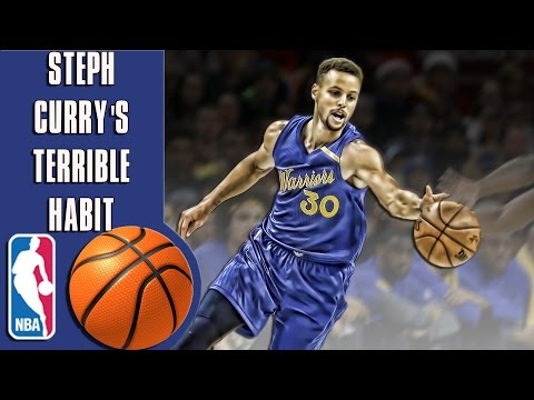 Steph Curry's terrible habit that may damage his legacy