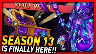 Knights and Dragons - BEDEVILED DUSK CHEST!! Season 13 Shadowforged Chests Opening!