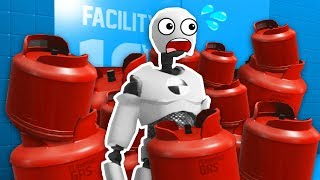 MAXIMUM EXPLOSIVE DAMAGE TO DUMMY (Rage Room VR Funny Gameplay HTC Vive)