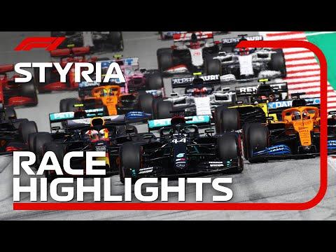 F1 2020 第2戦ピレリ・シュタイアーマルクGP レースハイライト動画