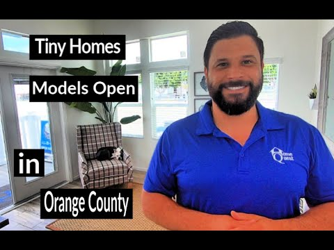 Video – TINY HOME Tours in Orange County. Park Models, Manufactured Homes, Modular Homes for Sale. FREE Tour