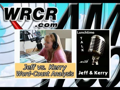 Lunchtime Talk w/ Jeff & Kerry-Word Count Analysis