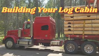 Log Cabin Build, How To Build Your Own Log Cabin