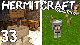 HERMITCRAFT 6 : 33 : BAD DOGS & FLAGS : Minecraft 1.13