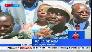 Kinara wa NASA, Raila Odinga akashifu kitendo cha kukamatwa kwa David Ndii