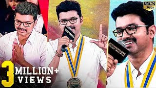 Samrat of Box Office - Thalapathy Vijay's Full speech in Behindwoods Gold Medals 2017