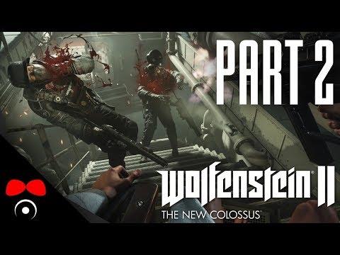 LASERKRAFTWERK! | Wolfenstein 2: The New Colossus #2