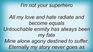Anthrax - Superhero Lyrics