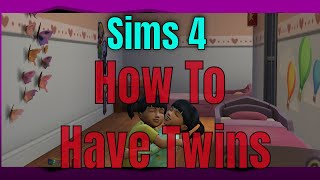 Sims 4 PS4 How To Have Twins And Ways To Try For Triplets Player Guide