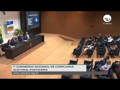 Seminário: 1º Congresso Nacional de Compliance Partidário-Eleitoral - 05/08/2019 - 16:24