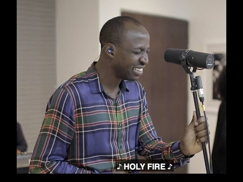 "Watch TY Bello's Spontaneous Worship Video ""Holy Fire"" with Dunsin Oyekan"