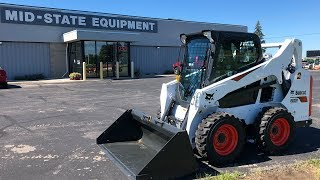 How To Safely Operate A S590 Bobcat Skid Loader