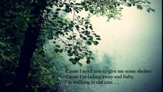WALKING IN THE RAIN - A1 ( with Lyric )