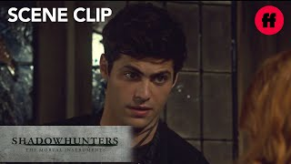 Shadowhunters | Season 3, Episode 4: Alec Questions Clary About Jace | Freeform