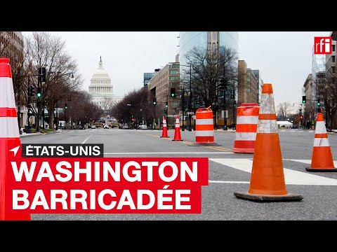 Washington barricadée Washington barricadée