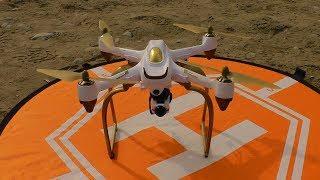 Hubsan H501s  With BTG Landing Gear Skid( Legs)  + Gimbal Set &  FIREFLY Q6 4k Camera