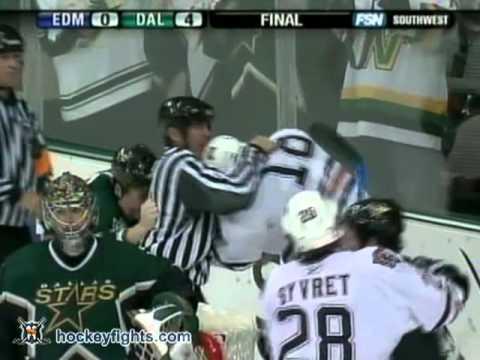 Ethan Moreau vs Steve Ott