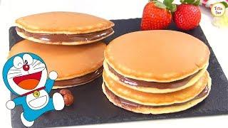 Kids Favorite Dora Cakes / Dorayaki / Dora Pancakes Recipe By Tiffin Box | Doreamon Pancake Recipe