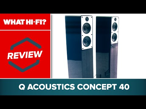 Q Acoustics Concept 40 review -- hi-fi speakers