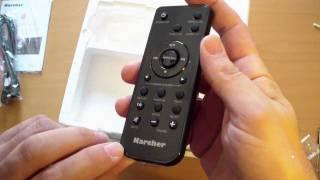 Unboxing zum Karcher MC 6560 High-End-MusikCenter - Achtung, Plastikalarm!