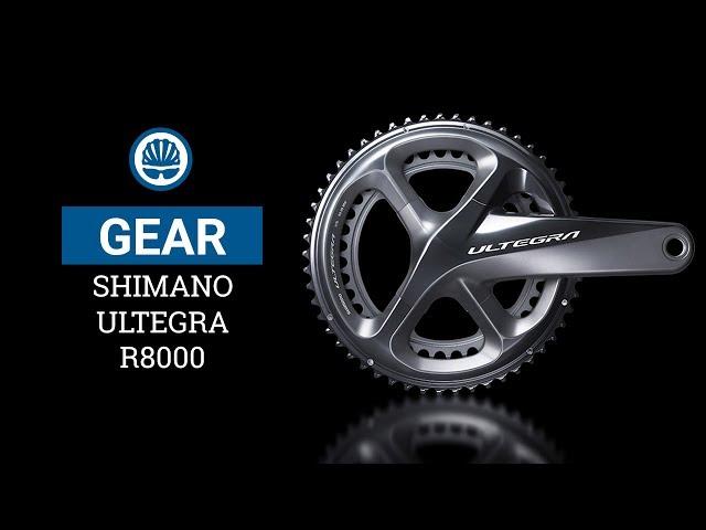 Видео Шатуны Shimano FC-R8000 ULTEGRA 46Х36 175 мм черные